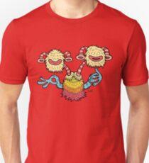 Double Headed Beat Box Monster Unisex T-Shirt