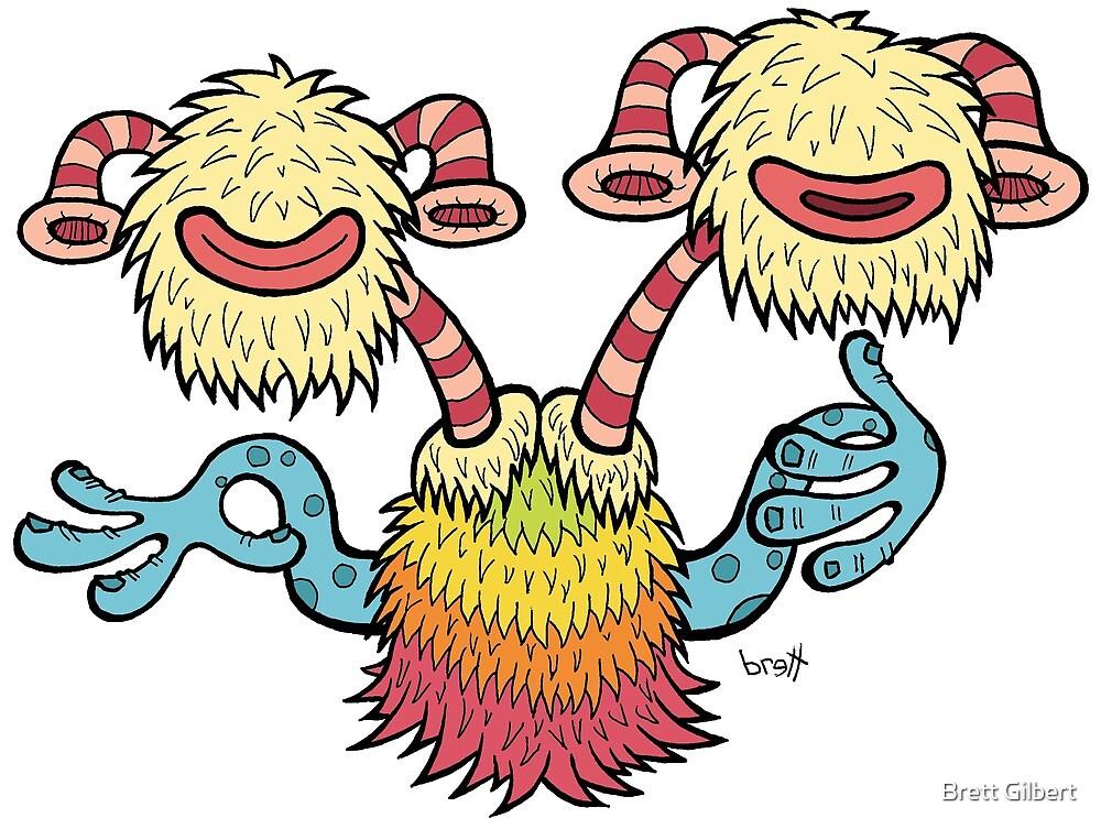 Double Headed Beat Box Monster by Brett Gilbert