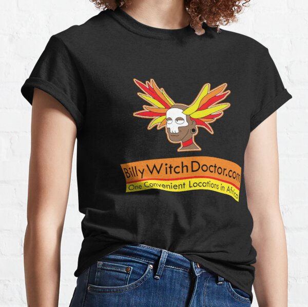 BillyWitchDoctor.com Classic T-Shirt