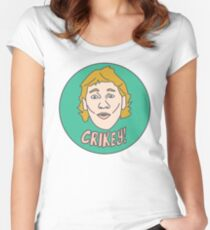 Crikey! Women's Fitted Scoop T-Shirt