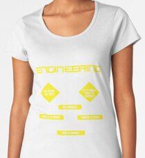Engineering Flowchart Shirt Women's Premium T-Shirt