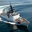 US-Küstenwache Cutter Waesche navigiert den Golf von Mexiko. von StocktrekImages