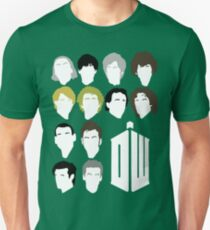 Twelve Doctors minimalist Unisex T-Shirt