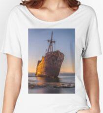 Golden ship Women's Relaxed Fit T-Shirt