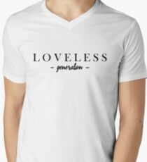 LOVELESS Men's V-Neck T-Shirt