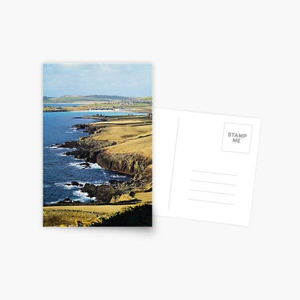 Sumburgh Head, Shetland Islands Postcard