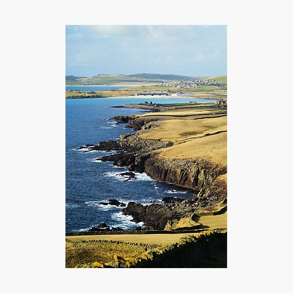 Sumburgh Head, Shetland Islands Photographic Print