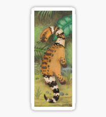 Cute Dinosaur Bookmark  Sticker