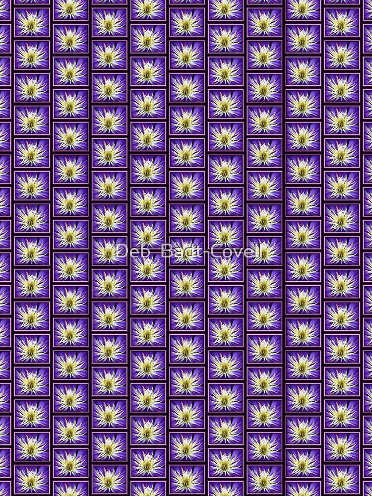 Purple Clematis Vine Flower by Badtgirl