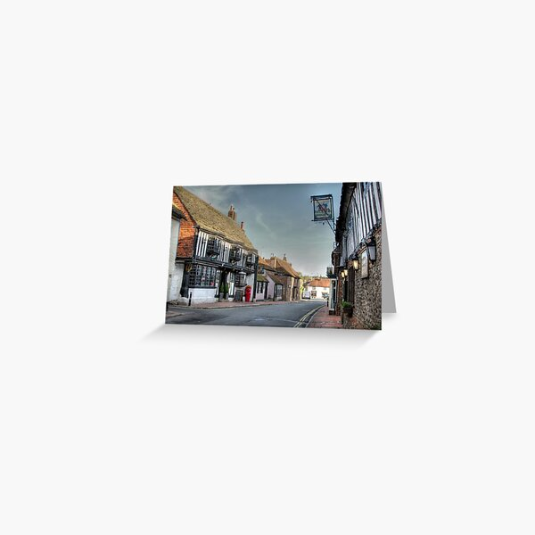 Alfriston High Street - 2, East Sussex, UK Greeting Card