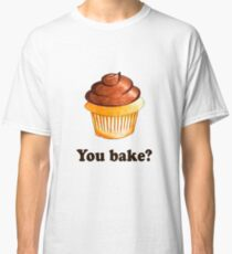 Cupcake; Vanilla; Chocolate; Frosting; Sweet; You bake Classic T-Shirt