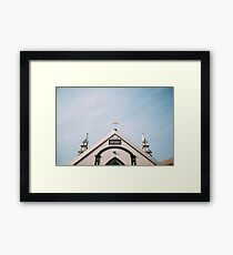 Building Framed Print