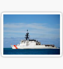 The national security cutter USCGC Waesche. Sticker