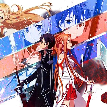 Kirito and Asuna Face by FriendsLove