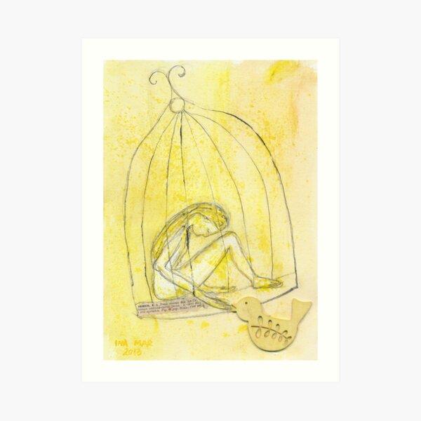 Satie Gymnopédie 1 lent et douloureux Art Print