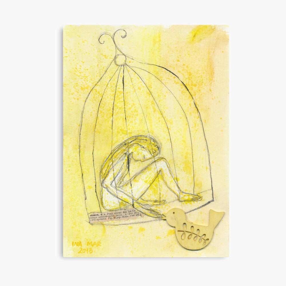 Satie Gymnopédie 1 lent et douloureux Canvas Print