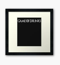 Game of Dunks Framed Print