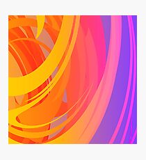 Abstract Colorful Pattern Photographic Print