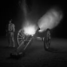 Firing the Six-Pounder at Night by halnormank