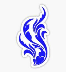 O So Blue Sticker
