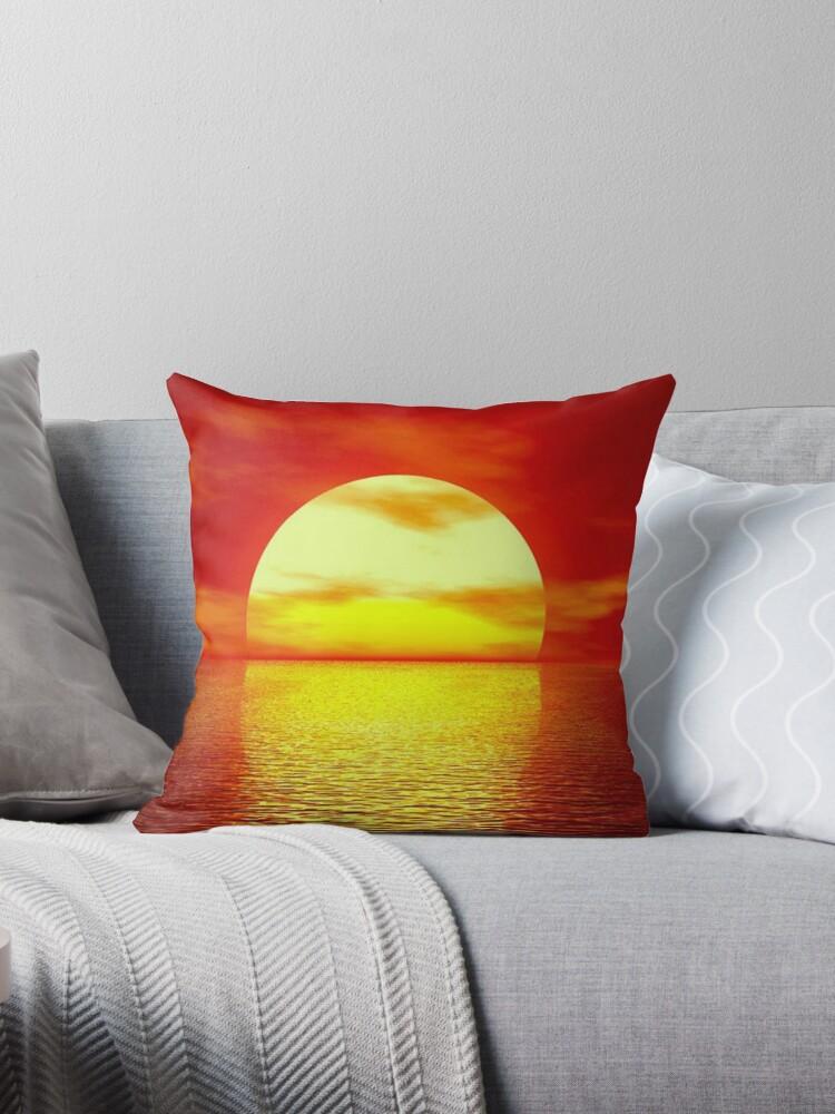 The sun going down by Arjan Schuurman