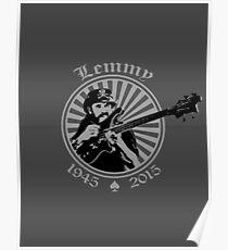 Lemmy Kilmister Tribute Poster