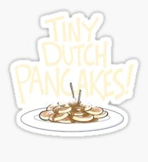 Tiny Dutch Pancakes! Sticker