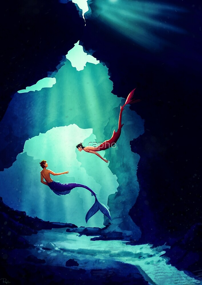 Dive In Deep Into The Ocean by rapho