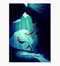 Dive In Deep Into The Ocean Photographic Print