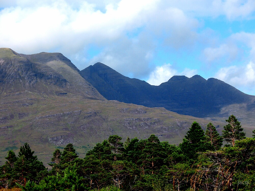 Mountains of Torridon by jacqi