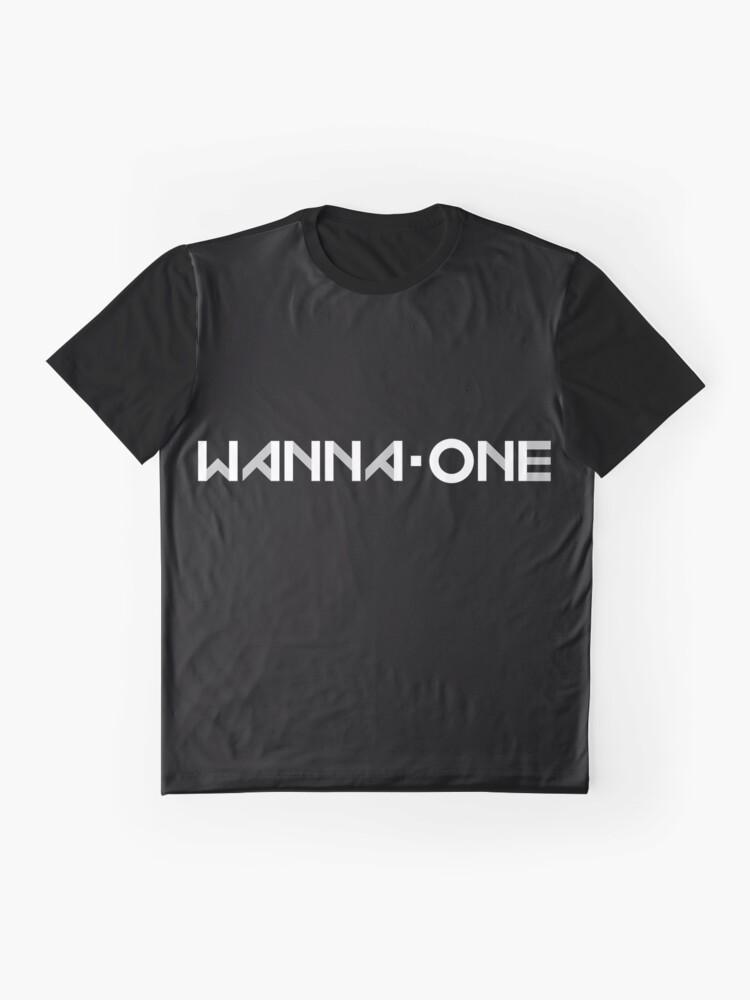 Vista alternativa de Camiseta gráfica Produce 101- WANNA-ONE (황 미현) ft. LOGOTIPO DE GRUPO