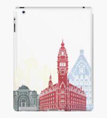 Lille skyline poster  iPad Case/Skin