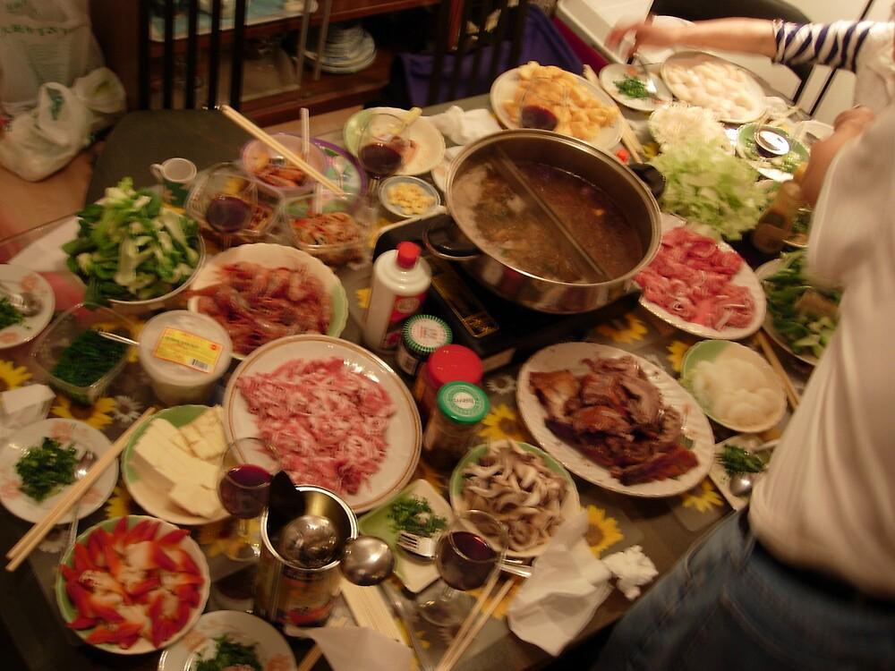 Asian Feast by XingXing