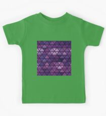 Abstract geometric Background #14 Kids Tee