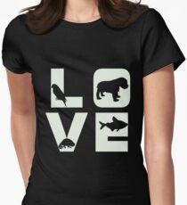 Animal Lover Veterinarian Shirt Womens Fitted T-Shirt