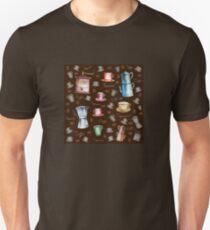 Coffee Pattern Unisex T-Shirt