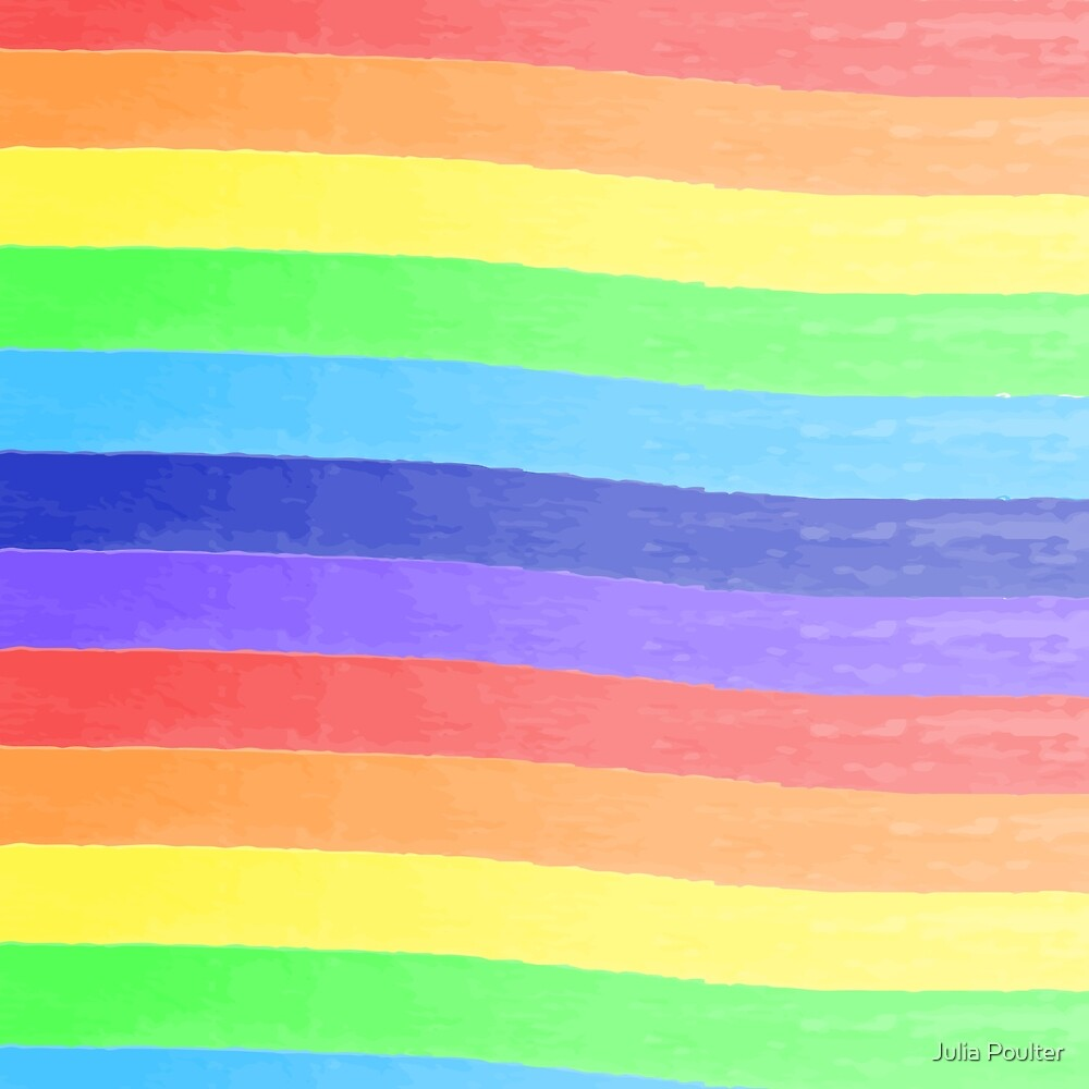 Rainbow Pattern by Julia Poulter