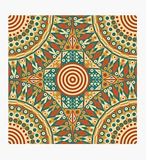 Abstract ethnic ornament Photographic Print