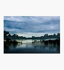 Double Reflection at Hever Photographic Print