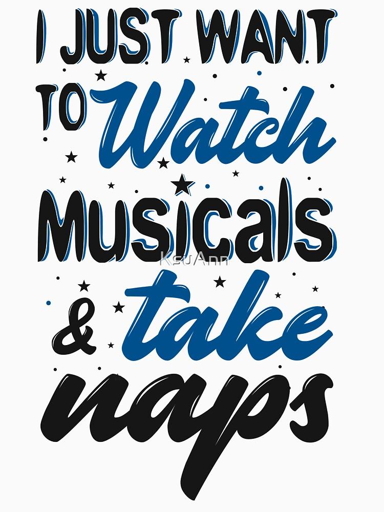 Solo quiero ver musicales y tomar siestas de KsuAnn