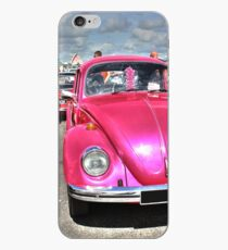 Pink Beetle iPhone Case