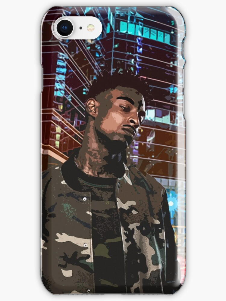 21 savage artwork iphone cases skins by dylan grant - 21 savage iphone wallpaper ...