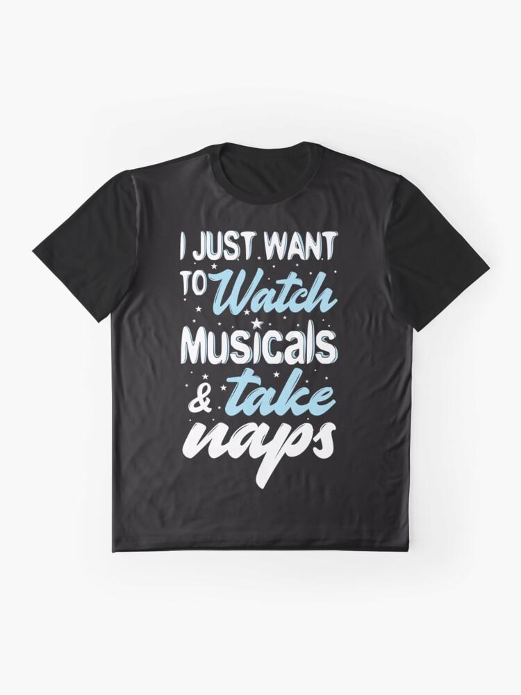 Vista alternativa de Camiseta gráfica Ver musical