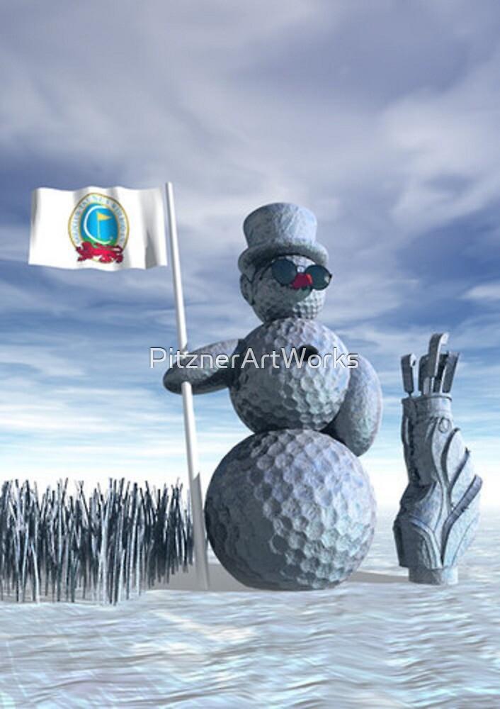 SNOWMAN by PitznerArtWorks