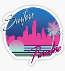 Surfers Paradise Sticker