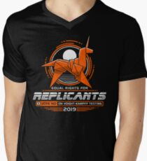 Equal Rights for Replicants Men's V-Neck T-Shirt