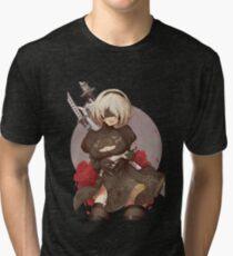 Camiseta de tejido mixto NieR: Automata 2B