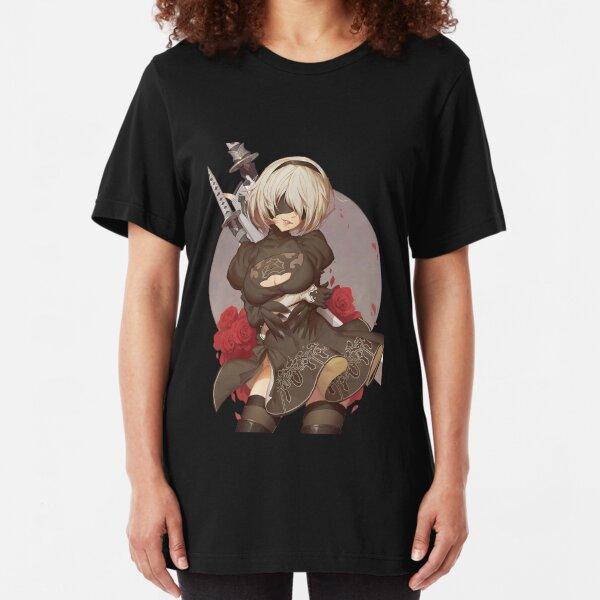 NieR:Automata 2B Slim Fit T-Shirt