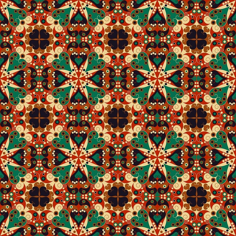 Ethnic ornament by Anzhelika1984