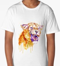 Angry Lioness Long T-Shirt